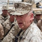 James Mattis speaking to Marine in Iraq