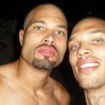 Jeremy Meeks with his brother Emery Meeks