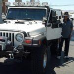 Joe Jackson Jeep