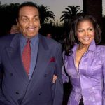 Joe Jackson With His Daughter Janet Jackson