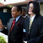 Joe Jackson With His Son Michael Jackson