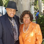 Katherine Jackson with her husband Joe Jackson