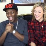 KSI with his ex-girlfriend