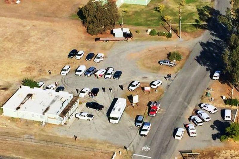 Kevin Janson Neal California School Crime Scene