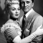 Kirk Douglas With His Ex-Girlfriend Lana Turner