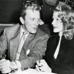 Kirk Douglas With His Ex-Girlfriend Mona Knox