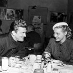Kirk Douglas With His Ex-Girlfriend Patricia Knight