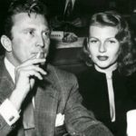 Kirk Douglas With His Ex-Girlfriend Rita Hayworth