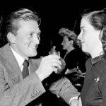 Kirk Douglas With His Ex-Wife Diana Douglas
