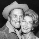 Kirk Douglas With His Wife Anne Douglas