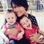 Leeann Tweeden with her children