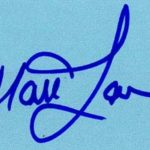 Matt Lauer Signature
