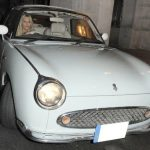 Mollie King - Nissan Figaro