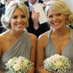 Mollie King with her sister Laura