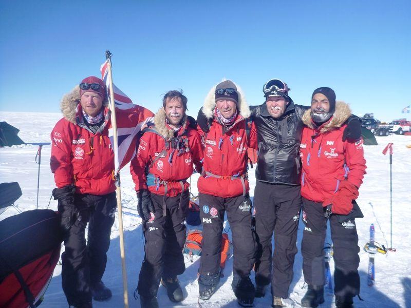 Prince Harry - South Pole