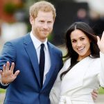 Prince Harry with his wife Meghan Markle