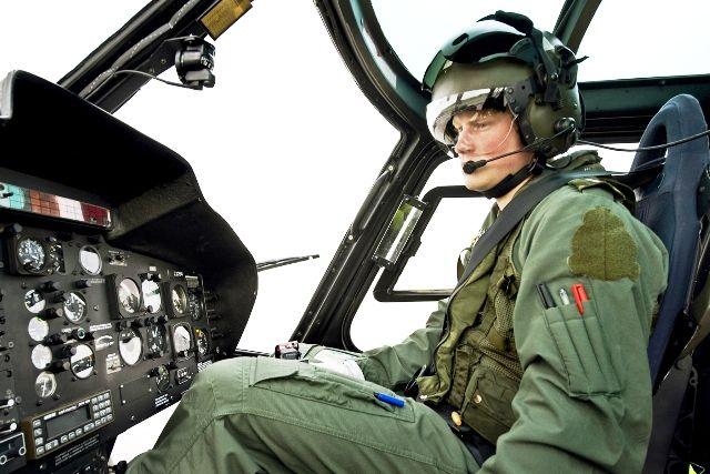 Prince Harry as a Pilot