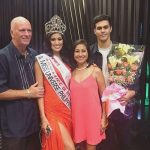 Rachel Peters with her family