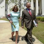 Roy Moore with his wife