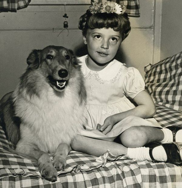 Sharon Tate Childhood Photo