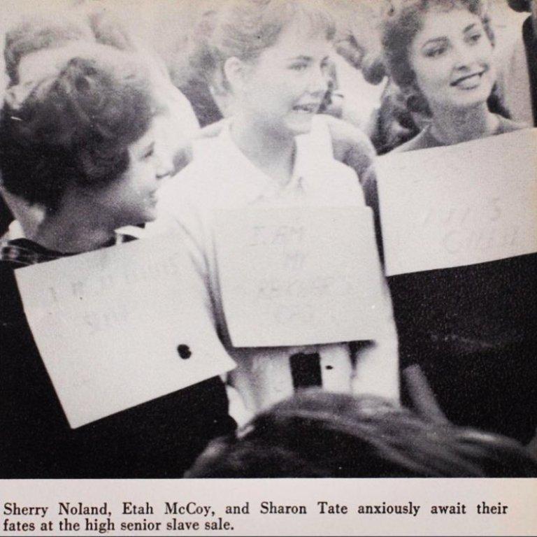 Sharon Tate High School Friends