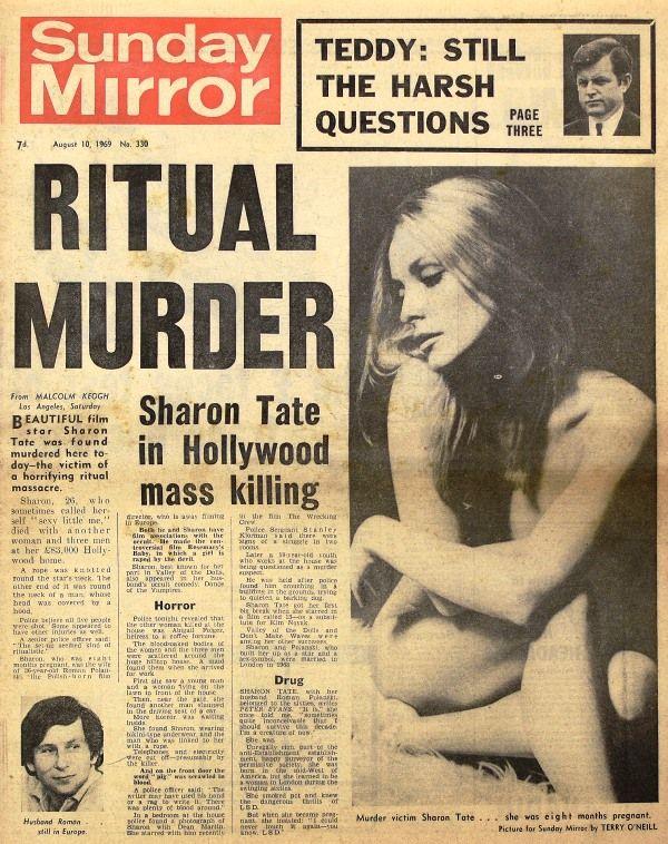 Sharon Tate Murder News