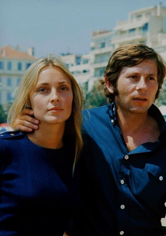 Sharon Tate With Her Husband Roman Polanski
