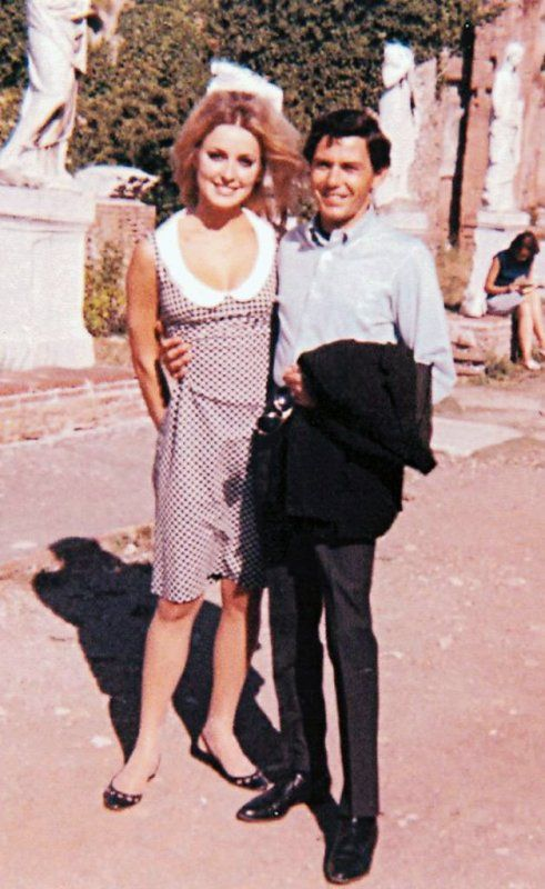 Sharon Tate With Jay Sebring in Italy in 1965