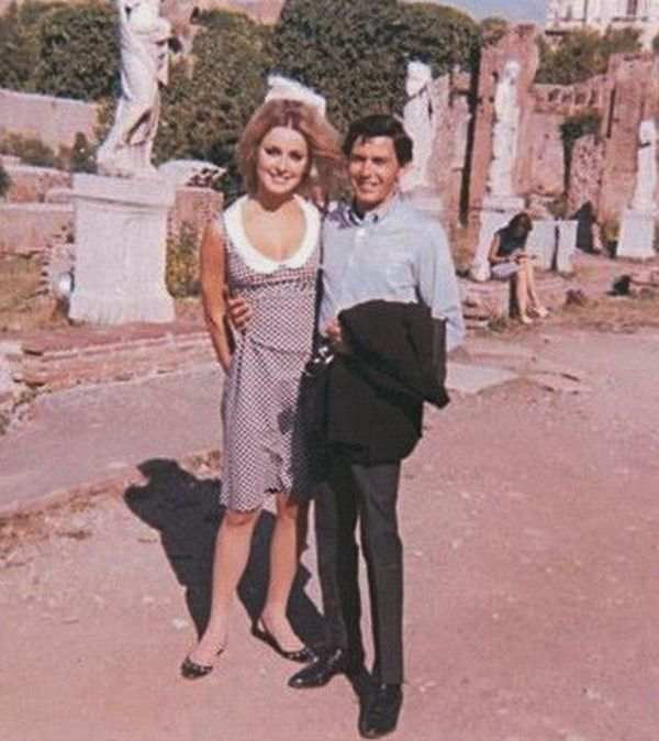 Sharon Tate With Jay Sebring