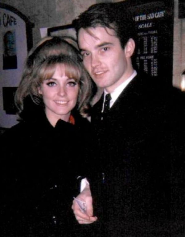 Sharon Tate With Philippe Forquet