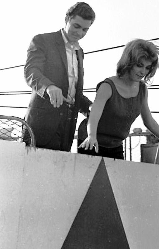 Sharon Tate With Richard Beymer