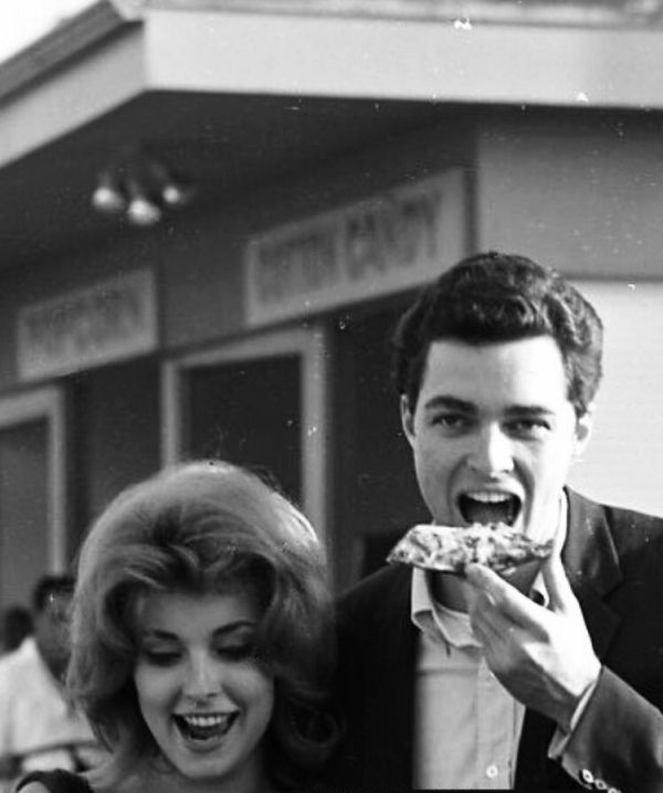 Sharon Tate With Richard Beymer