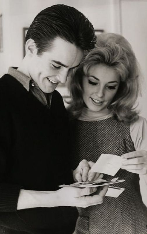 Sharon Tate and Philippe Forquet