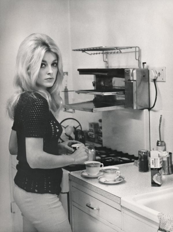 Sharon Tate in the Kitchen