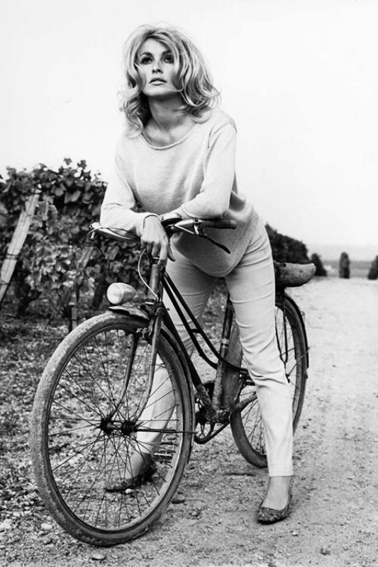 Sharon Tate loved cycling