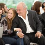 Sir Philip Green with his daughter Chloe Green