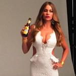 Sofía Vergara Drinking