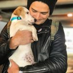 Wells Adams, an animal lover