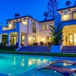 His Beverly Hills house. ($7.5 million)