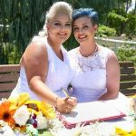 Amy & Lauren Australia first gay marriage