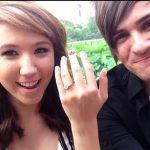 Anthony with her ex-fiancee Kalel