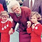 Barbara Bush With Her Sister Jenna And Grandmother Barbara