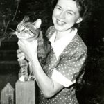Beverly Cleary With Cat