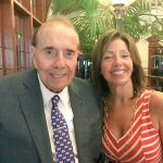 Bob Dole With His Daughter Robin Dole