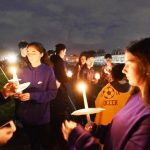 Brooke Costanzo - Candlelight vigil by her mates