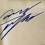 Cameron Monaghan Signature