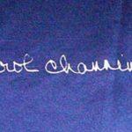 Carol Channing Signature