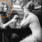 Christine Keeler Drinking Alcohol