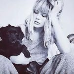 Emma Greenwell With Her Dog