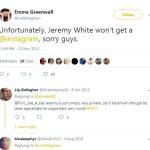 Emma Greenwell's Tweet